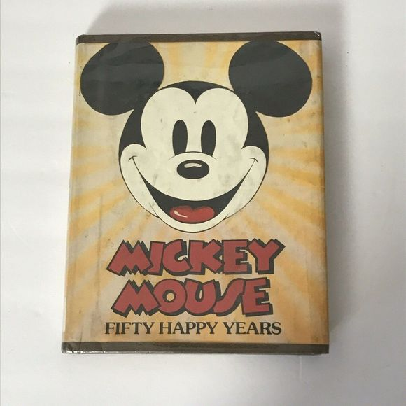 Vintage Disney Mickey Mouse - Fifty Happy Years